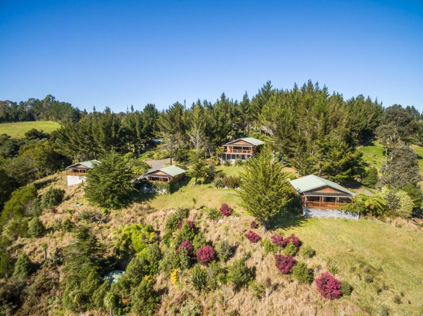 Vue aérienne de Coco Zen Lodge & Spa : une semaine dans ce petit paradis sauvage vous remettra en forme ! (photo Cocozen)