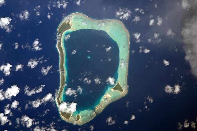 La Polynésie vue par l'astronaute français Thomas Pesquet