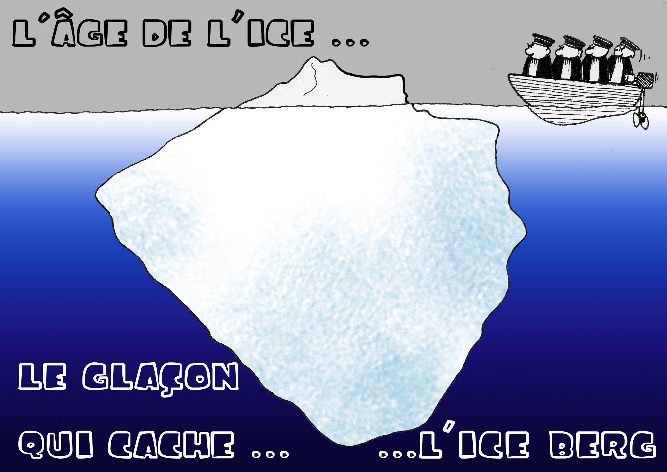 """"""" L'âge de l'ice """" par Munoz"""
