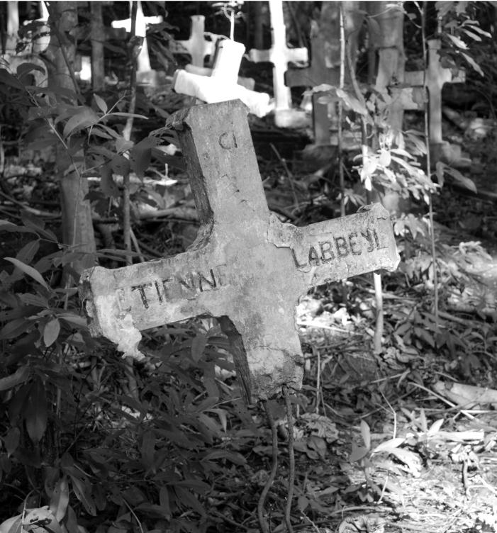 Tombes du cimetière des lépreux
