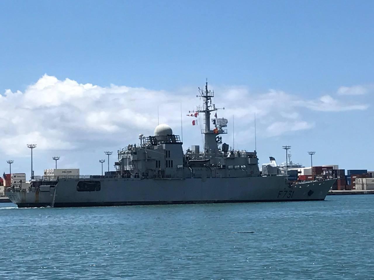 Le Prairial avait servi à effectuer une saisie record en Polynésie de 1438 kilos en janvier dernier Cp:E.C