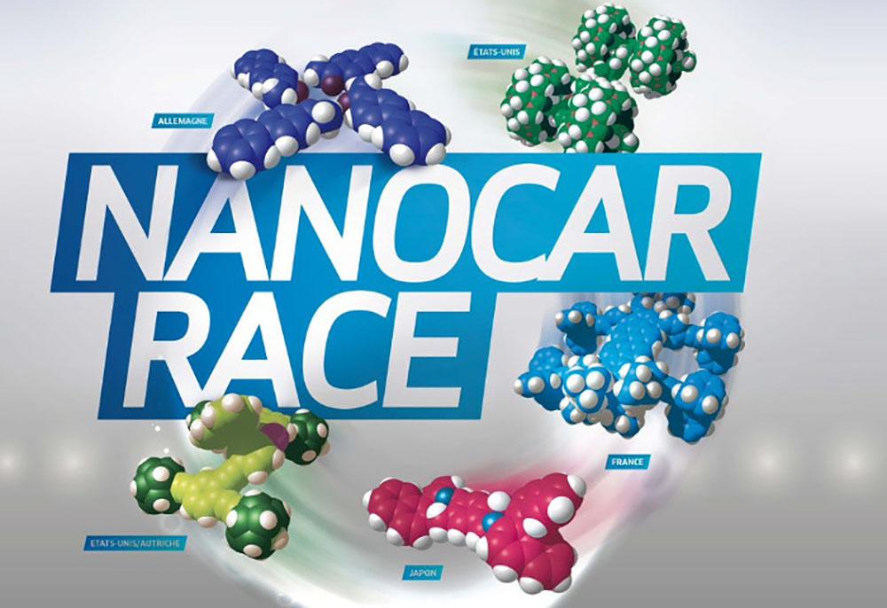 Des nanovoitures bientôt en piste pour une course automobile