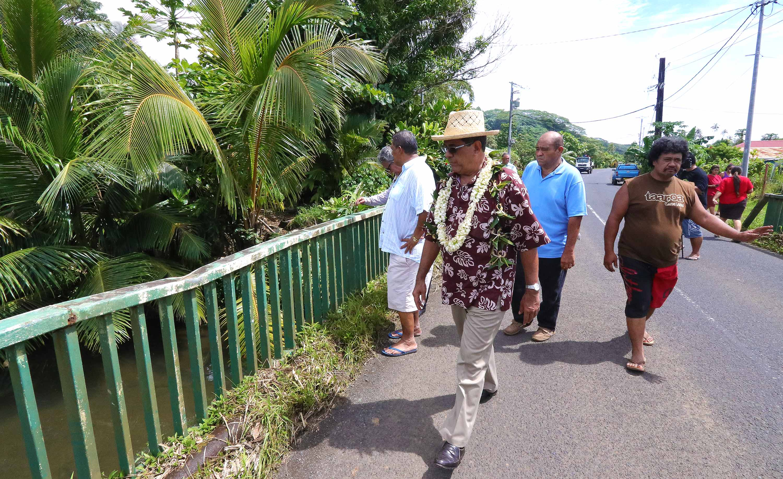 Papeari, Faaone et Hitia'a o te Ra : pas assez d'émissaires pour évacuer les eaux