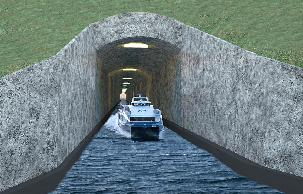 La Norvège va bâtir le premier tunnel maritime au monde