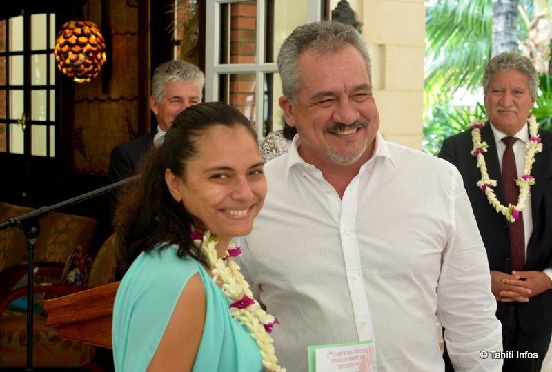 Vairea Cheung Piou a lancé le projet Tahiti Customize pour recycler les vieux vêtements.