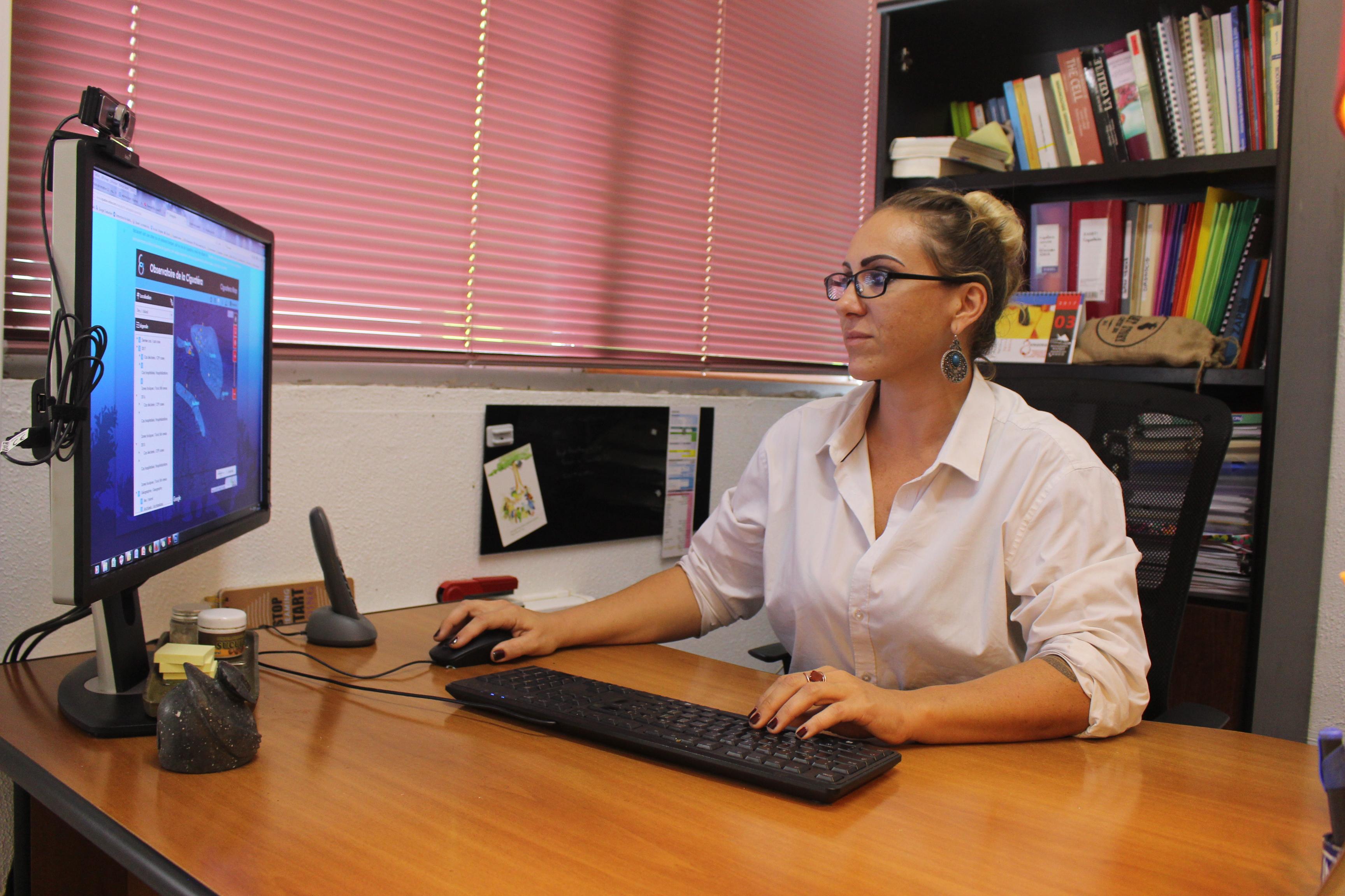 Depuis le début de l'année le site internet ciguatera-online de Clémence Gatti, docteure à l'institut Louis Malardé, s'ouvre à d'autres îles du Pacifique.