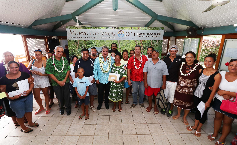OPH : 14 familles reçoivent la clé de leur logement