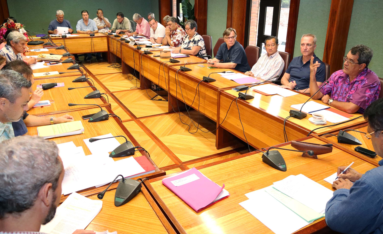L'Accord Etat-Pays pour le développement de la Polynésie française présenté au CESC