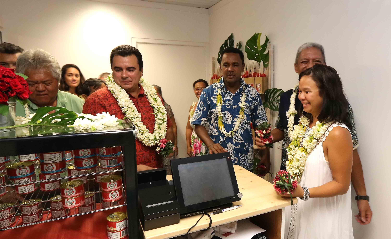 La Conserverie de Tahiti inaugurée