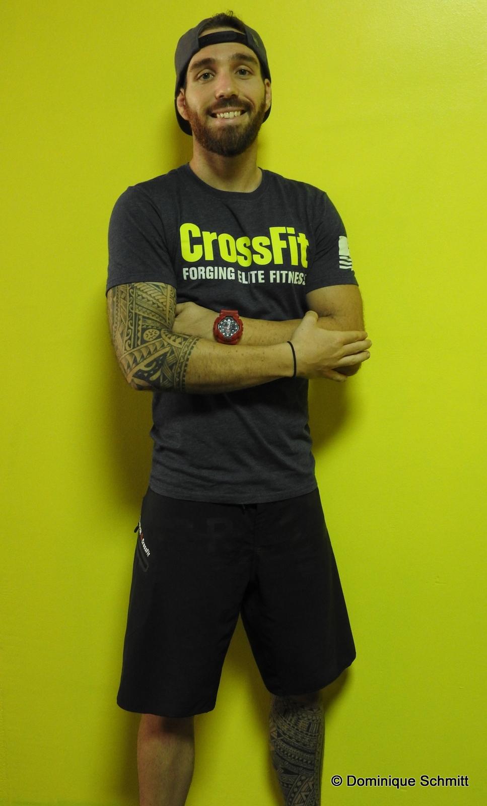 Diplômé Level 1, Vincent Heyman sera votre coach à CrossFit Pop.