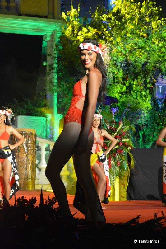 Avec son physique de top model, Ayla Kayser avait mis une grosse option sur le concours lors du défilé en maillot, et prendra le titre de première dauphine