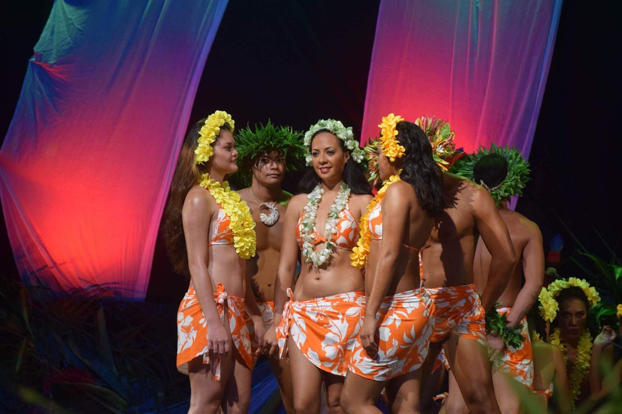 L'école de danse de Raivaihiti a effectué des prestations durant les intermèdes.