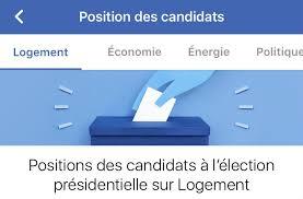 Election présidentielle: Facebook lance un comparateur de programmes