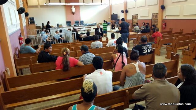 """Vingt prévenus étaient attendus ce matin mais tous n'ont pas répondu à la convocation en justice, dont l'un des """"boss"""" présumé de ce trafic de stupéfiants."""