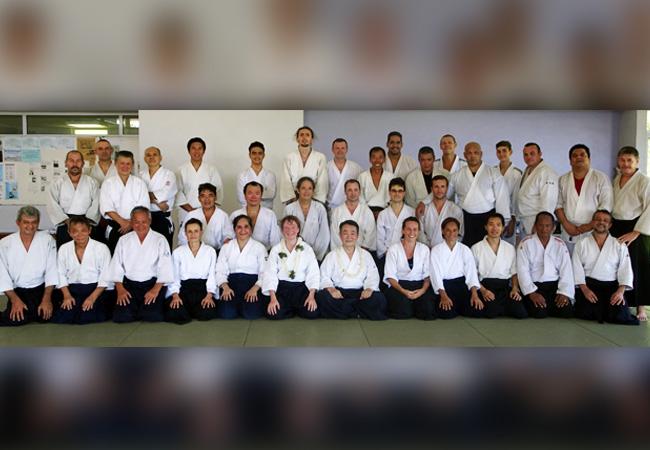 Aïkido : Stage avec MIMURO Atsushi, expert japonais du 9 au 17 avril