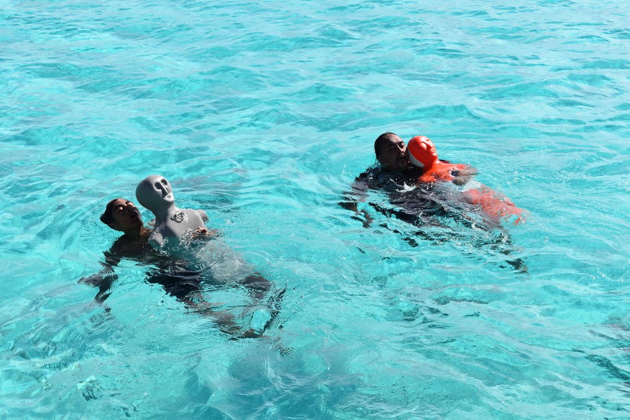 La formation au Brevet de surveillant aquatique s'est tenue du 31 mars au 5 avril à Makemo.