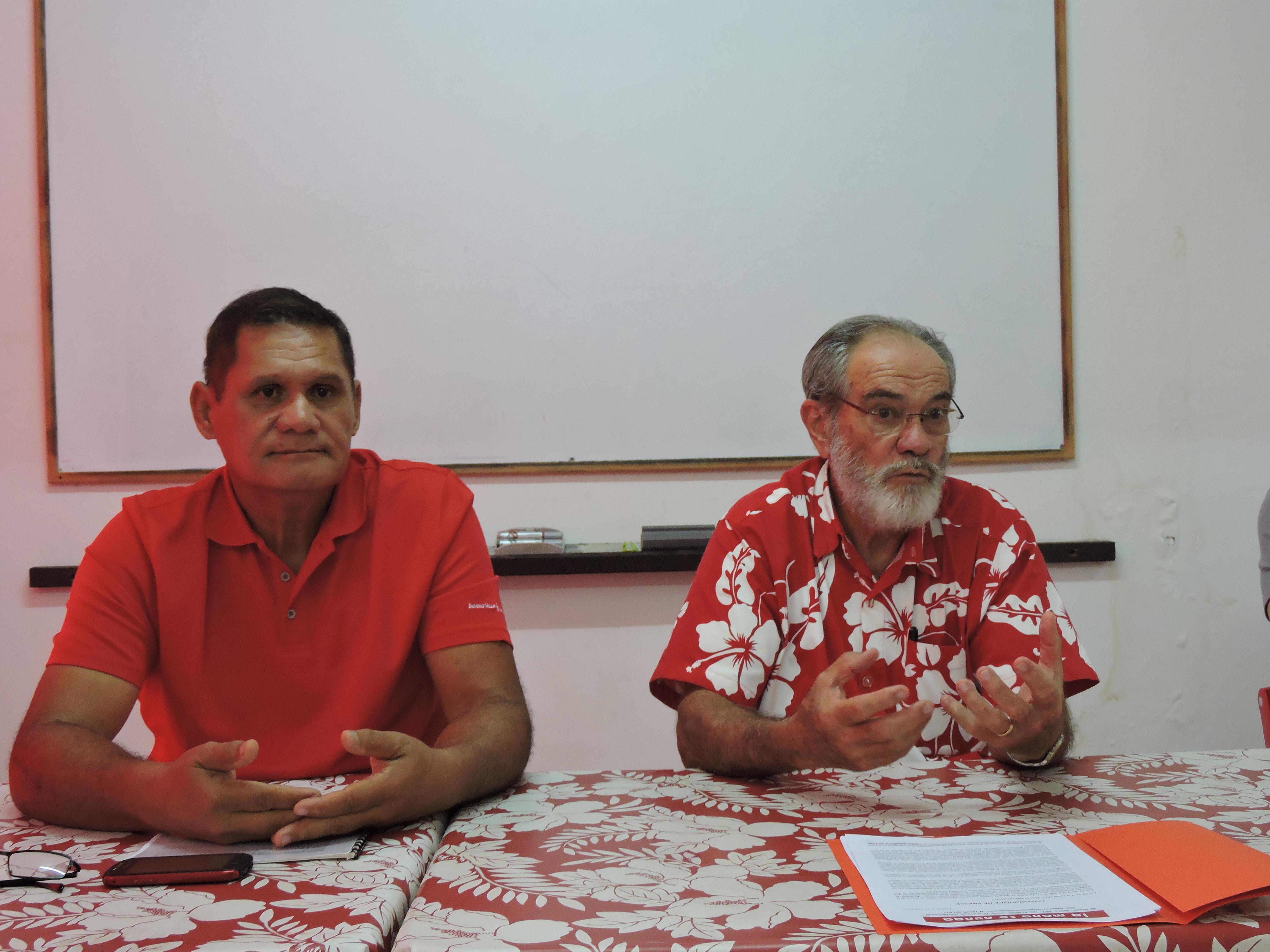 Le parti Ia Mana te nunaa a annoncé son soutien au candidat Jean-Luc Mélenchon pour cette élection présidentielle.