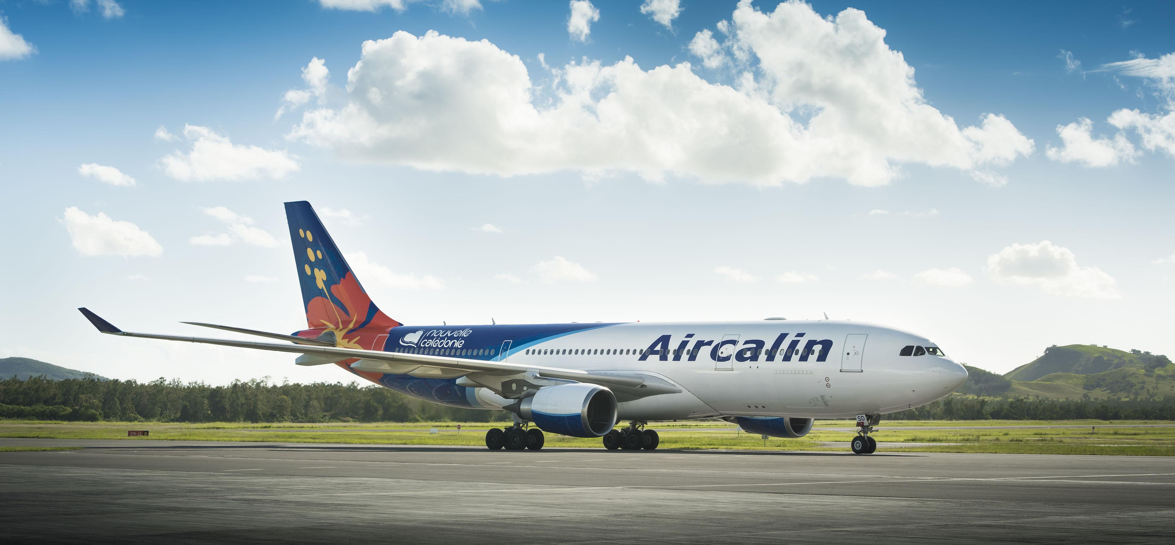 Le vol d'Air Calin retardé