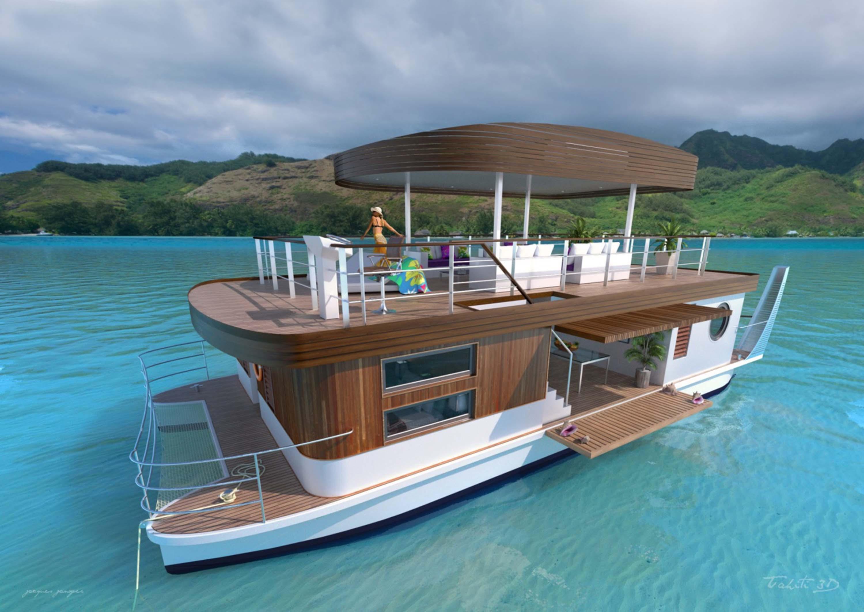 Des charters nautiques avec des catamarans à propulsion électrique