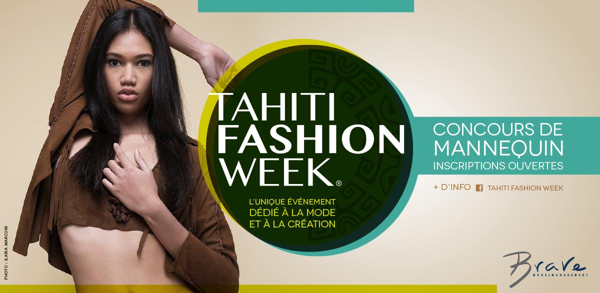 Concours Tahiti Fashion Week 2017 : devenez mannequin professionnel