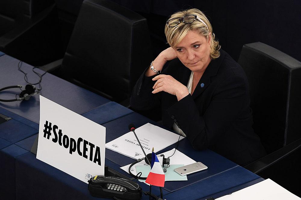 Assistants FN: la justice a demandé au Parlement européen de lever l'immunité de Marine Le Pen