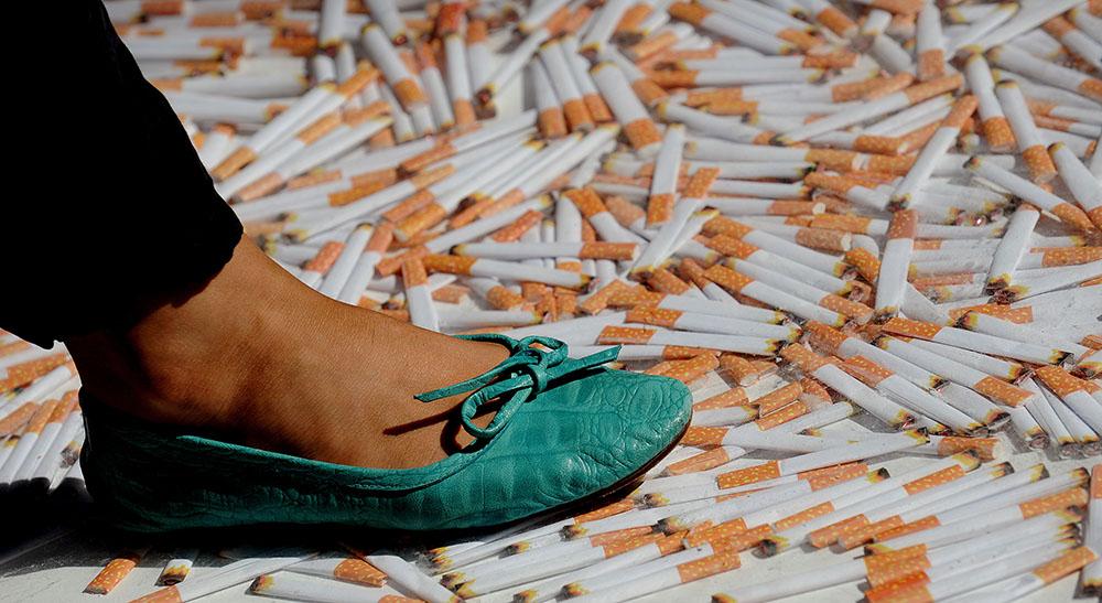 Le risque d'avoir un bébé de petit poids existe même avec 1 à 4 cigarettes par jour