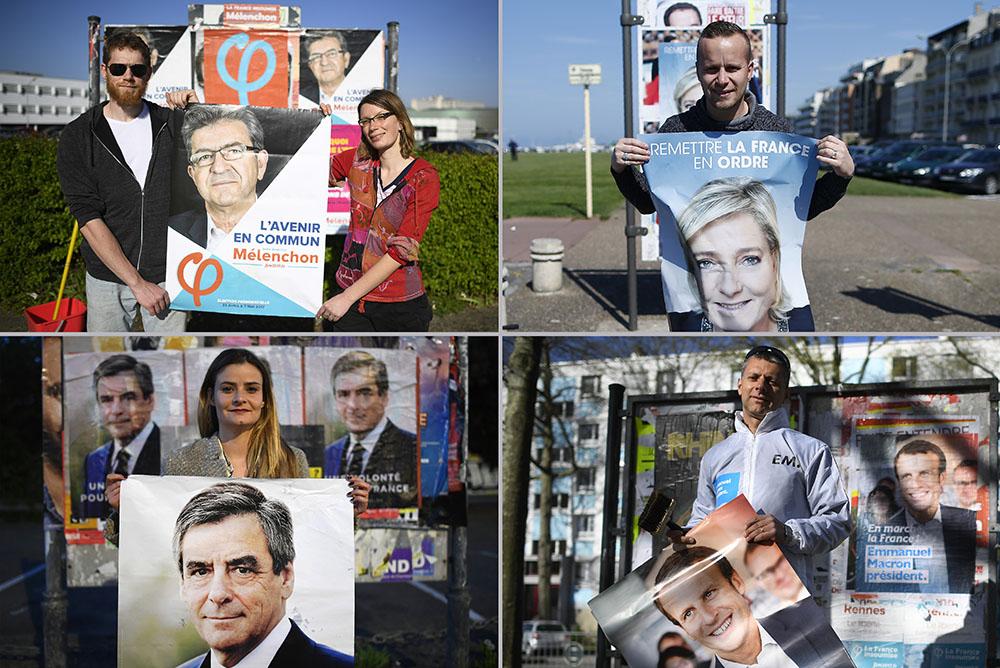 Présidentielle: les candidats jettent leurs forces dans la dernière ligne droite