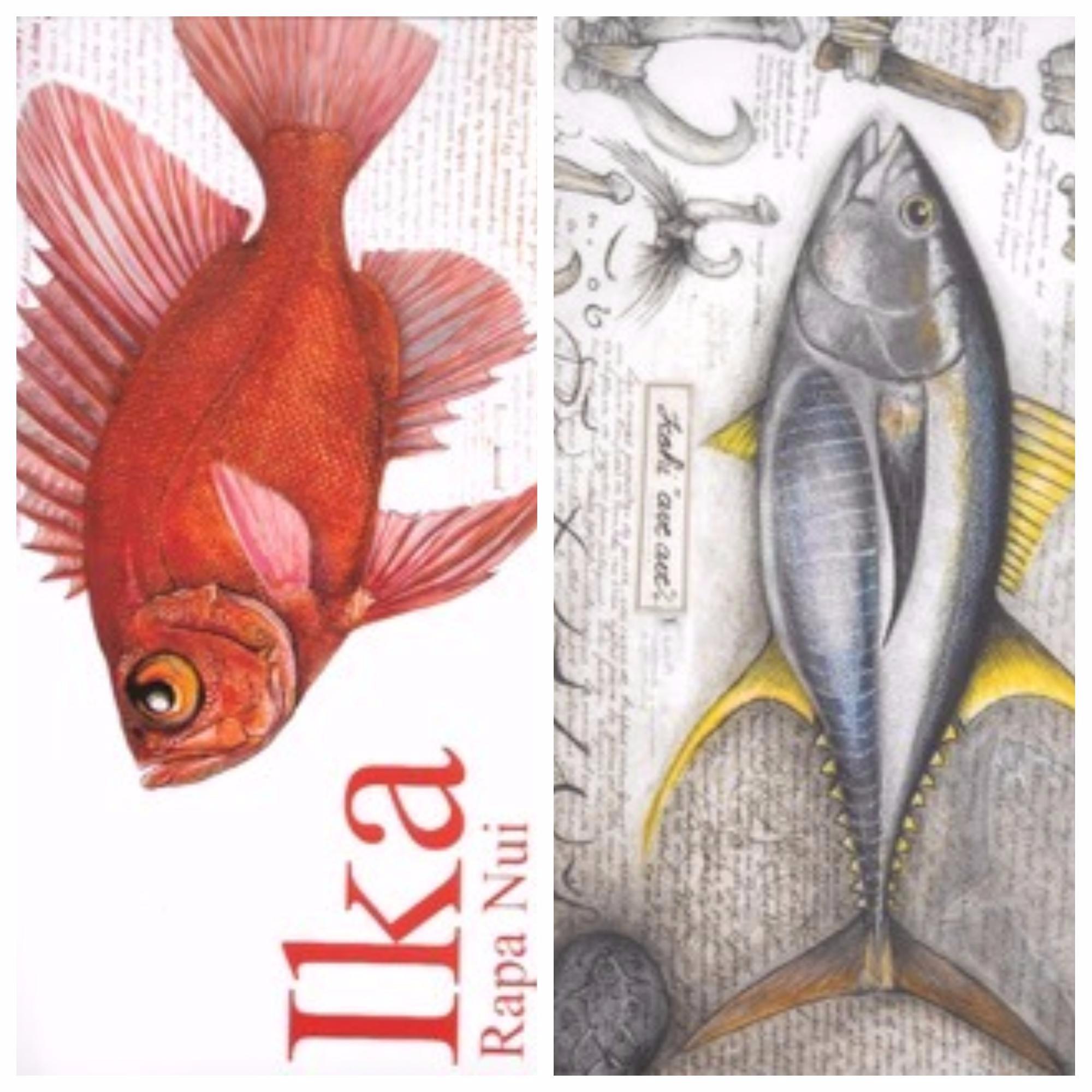 """""""Ika Rapa Nui"""" : le livre des poissons de l'île de Pâques"""