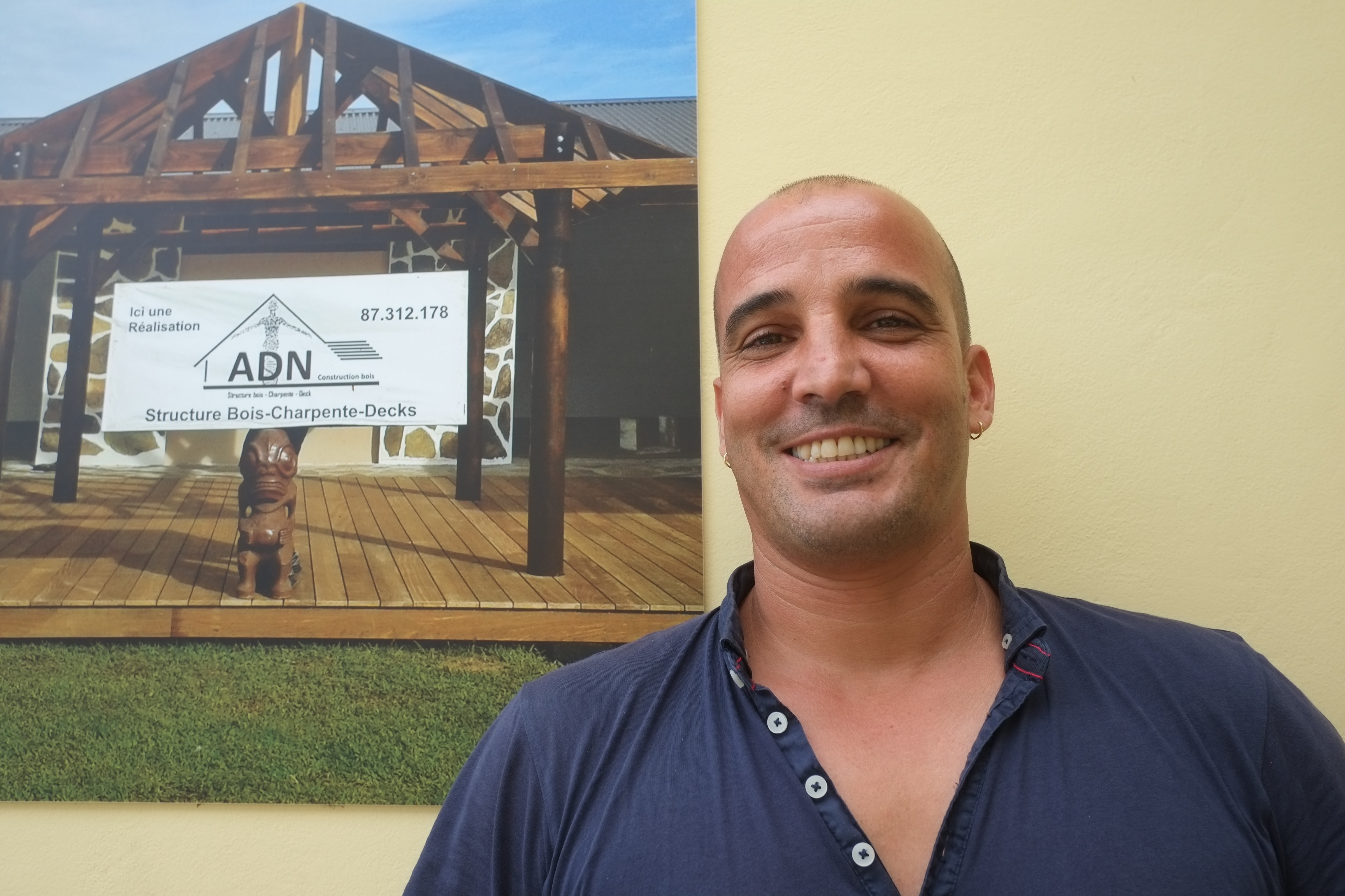 Guillaume Celestini, compagnon charpentier et entrepreneur