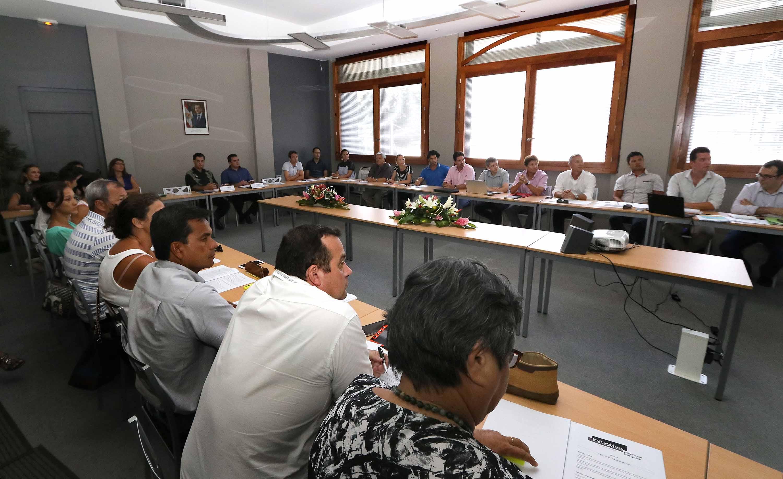 Assemblée générale constitutive de l'association Initiative Polynésie française