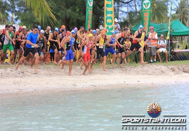 Triathlon « Triathlon nature de Moorea » : Une mise en jambe avant le Xterra Tahiti