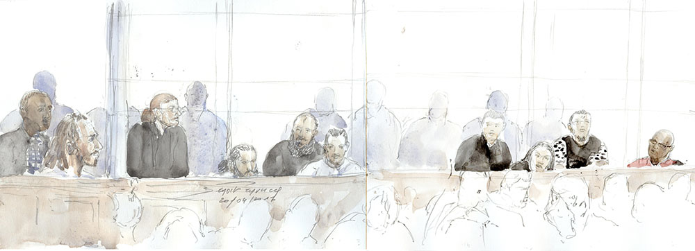 Ouverture du procès de la filière jihadiste de Cannes-Torcy aux assises de Paris