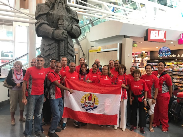 Des Tahitiens aux World Masters Games 2017