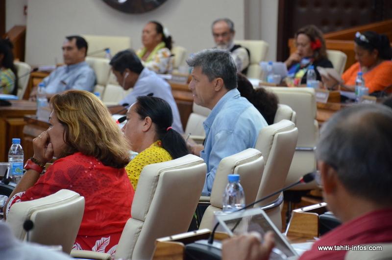 Antonio Perez (RMA), président de la commission de l'Assemblée chargée d'enquêter sur le secteur polynésien de l'énergie.