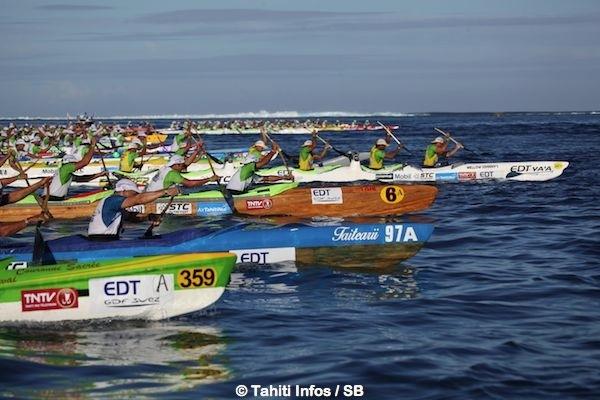 700 rameurs sont attendus cette année, dont trois équipes étrangères venant de Hawaii et de Nouvelle-Zélande