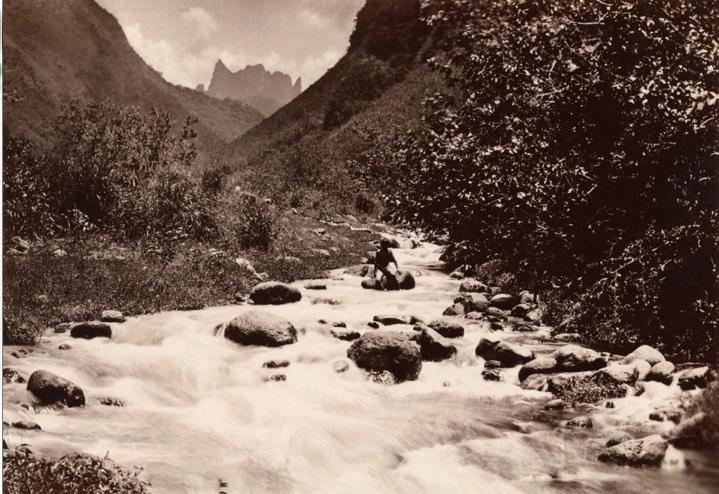 La vallée de la Fautaua en 1884