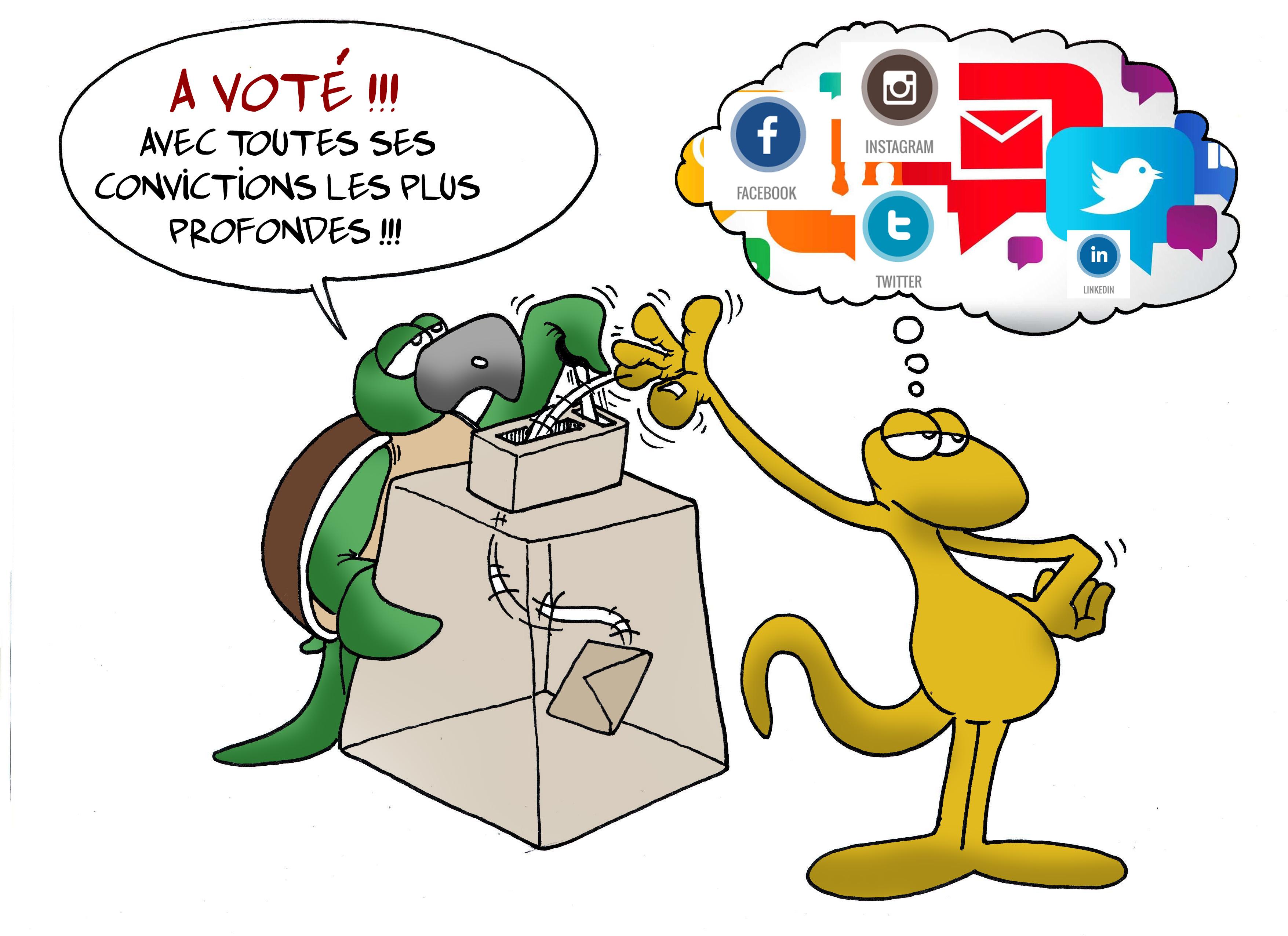 """"""" La Présidentielle 2.0 """" par Munoz"""