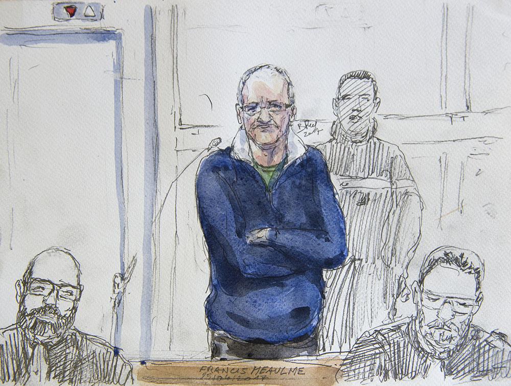 """""""Montigny, ce n'est pas moi"""", lance Heaulme à son procès"""