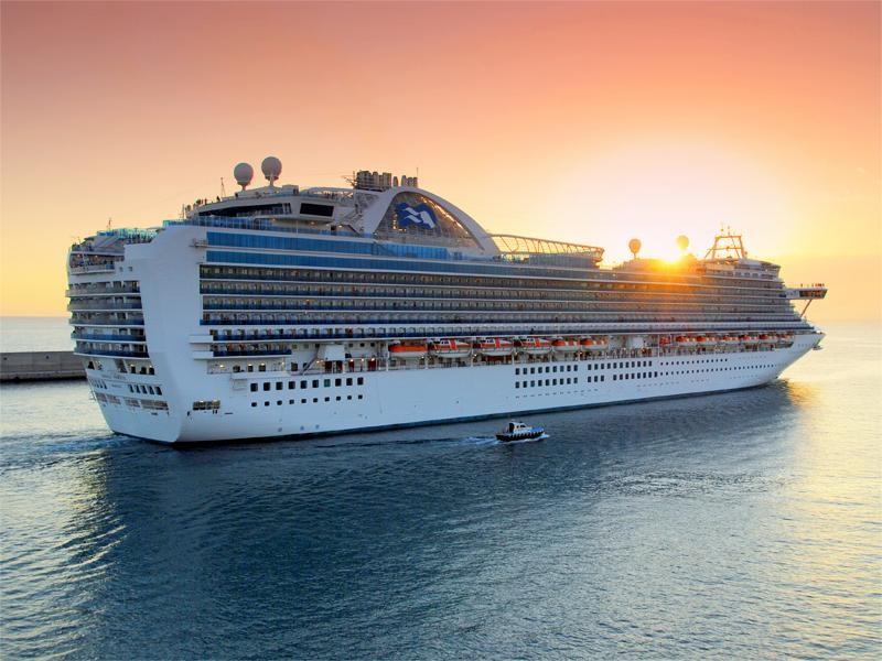 L'Emerald Princess sera à Papeete le mercredi 26 avril 8 heures au jeudi 27  5 heures avec 3006 passagers et 1144 membres d'équipage à son bord.