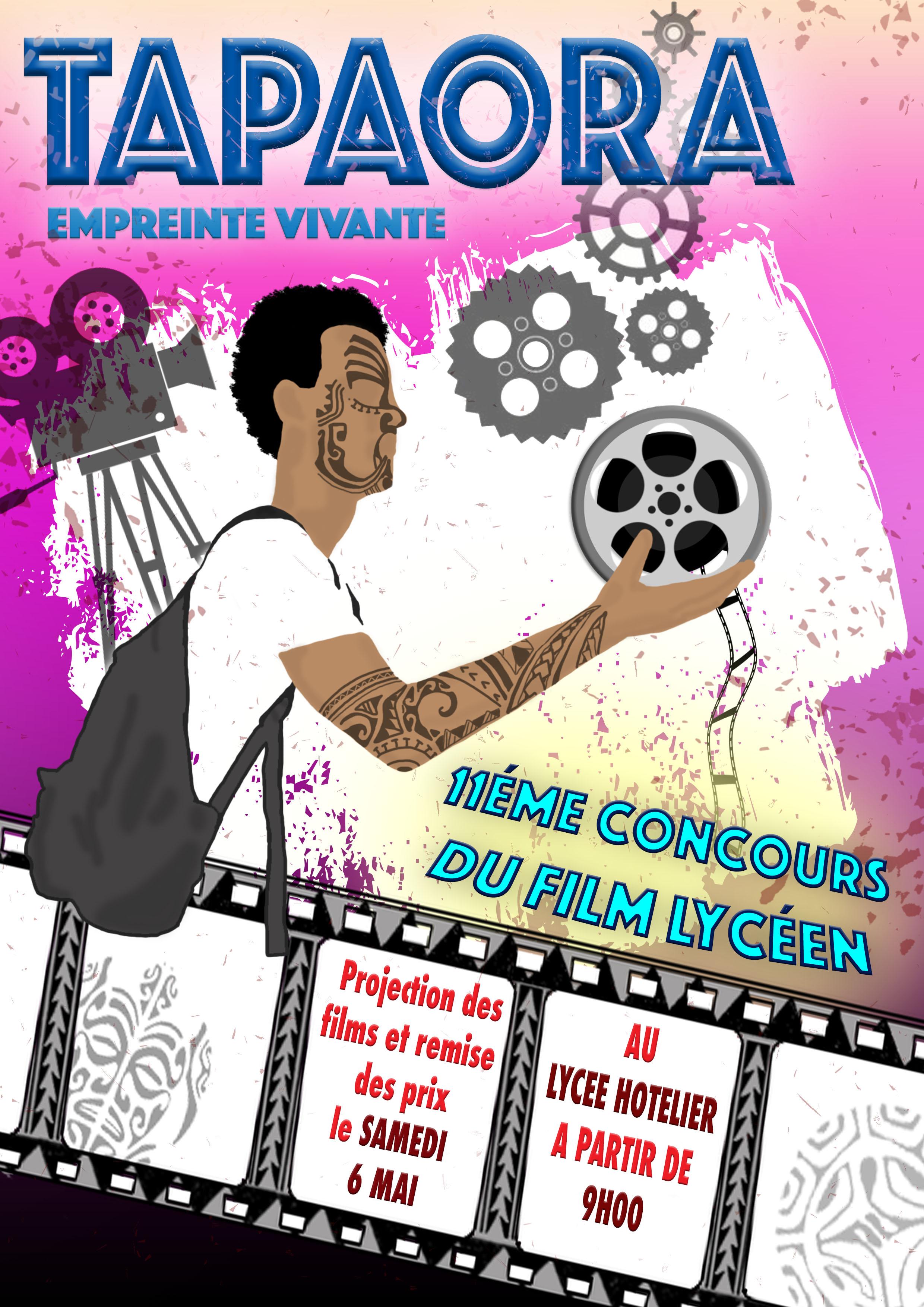 Dernière ligne droite pour Tapa ora, le concours du film lycéen