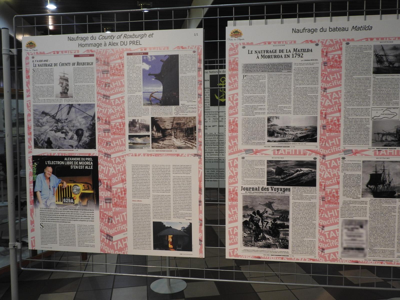 Le magazine Tahiti Pacifique est partenaire de cette exposition.