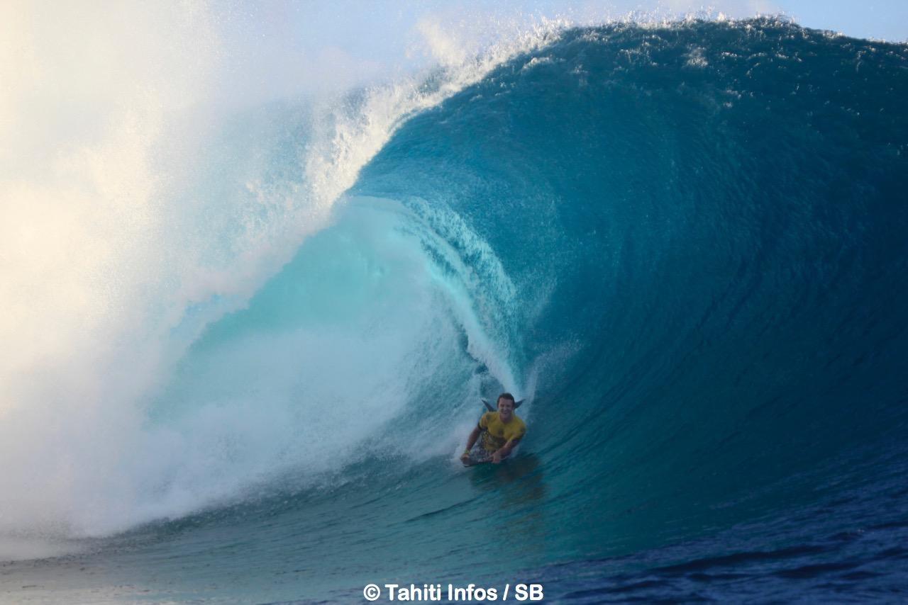 Le Hawaiien a dû sortir les gros moyens pour éliminer Angelo Faraire