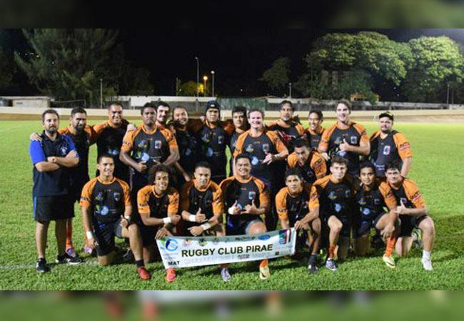 Rugby : Pirae large vainqueur, Punaauia de justesse...