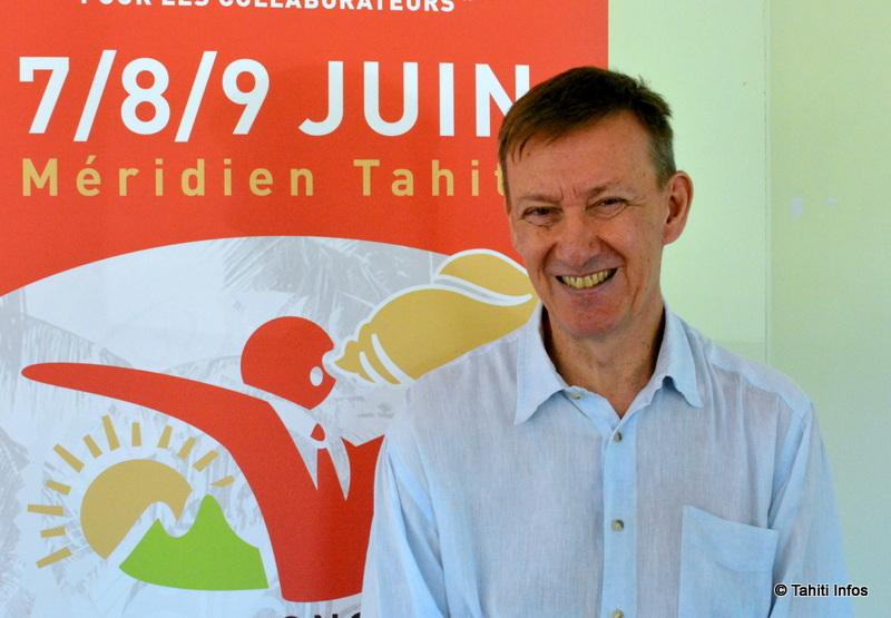 Laurent Devemy, président de Tahiti Congrès