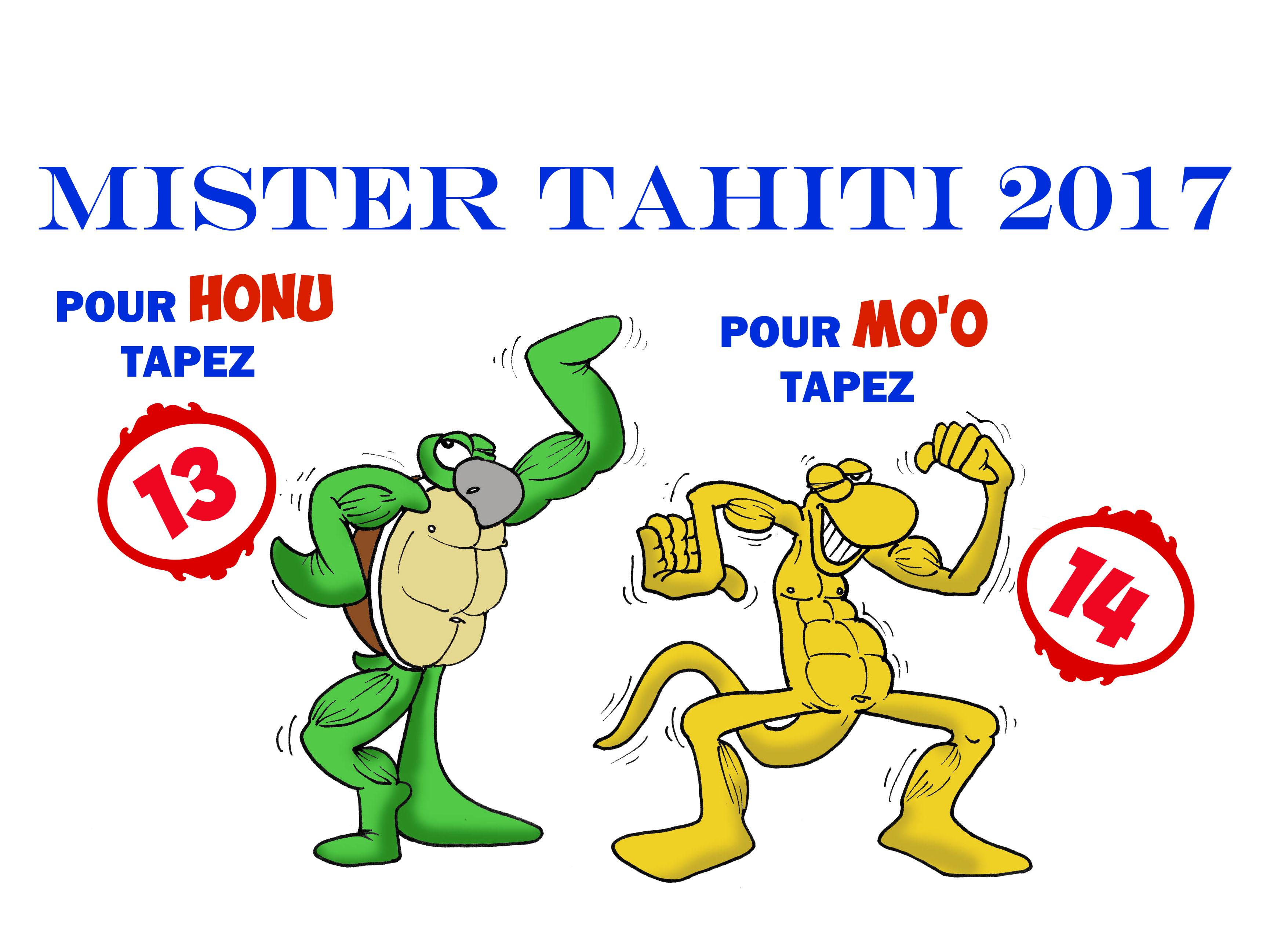 """"""" Mister Tahiti 2017 """" par Munoz"""