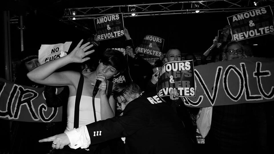 King's Queer sur scène. Crédit : Pierre Terrasson.