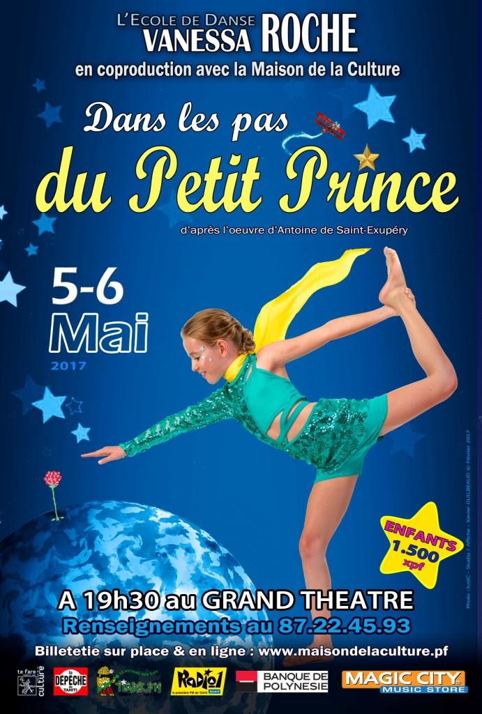 """Danse : l'école de Vanessa Roche """"dans les pas du Petit Prince"""""""