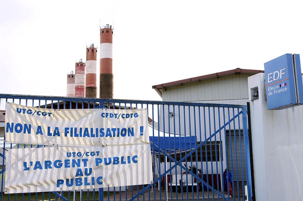 Guyane: près de 40% de la Guyane privée d'électricité selon EDF