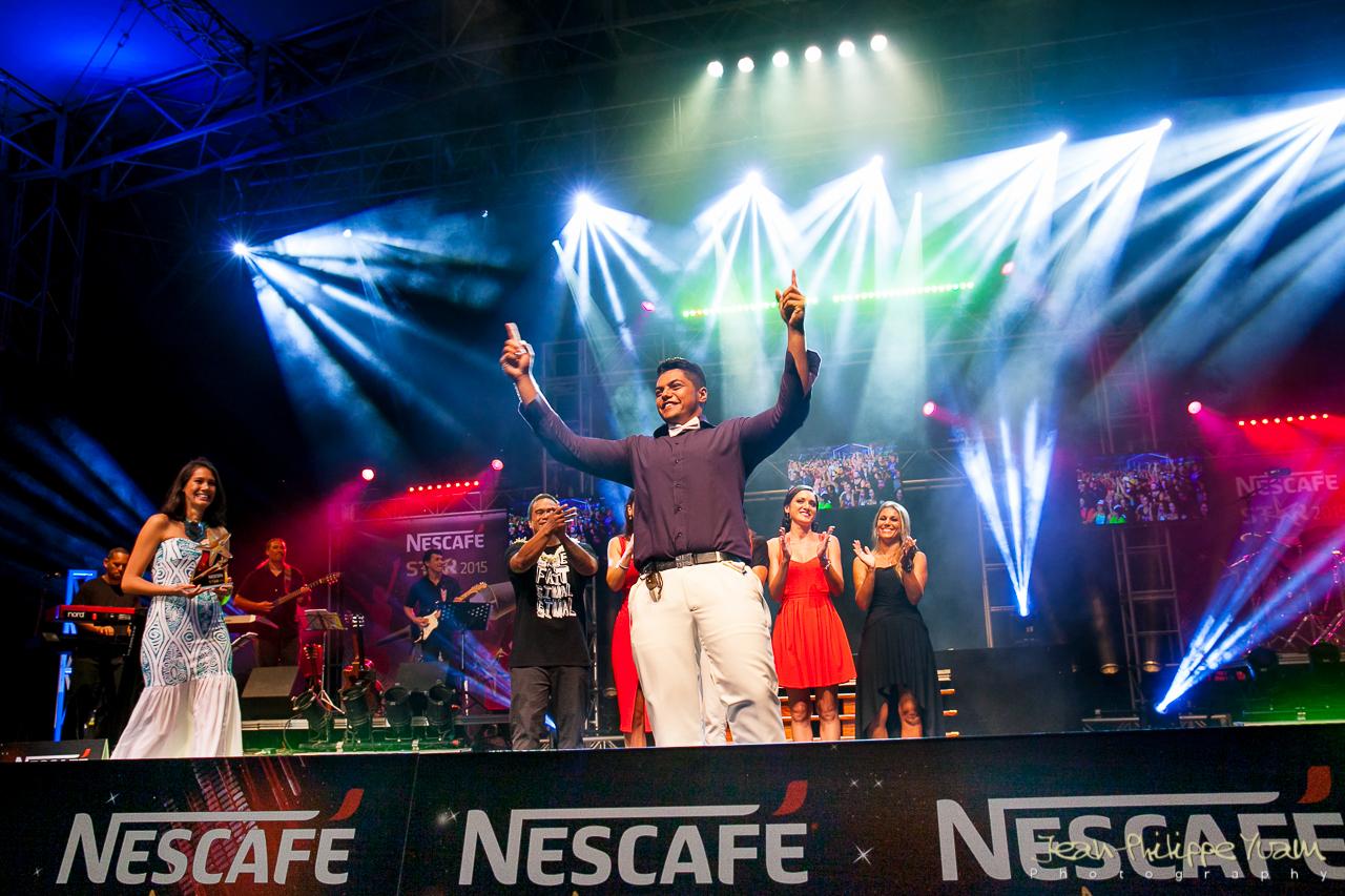 En 2015, c'est le vote du public qui a fait la différence et a permis à Fred Garbutt de remporter le trophée.
