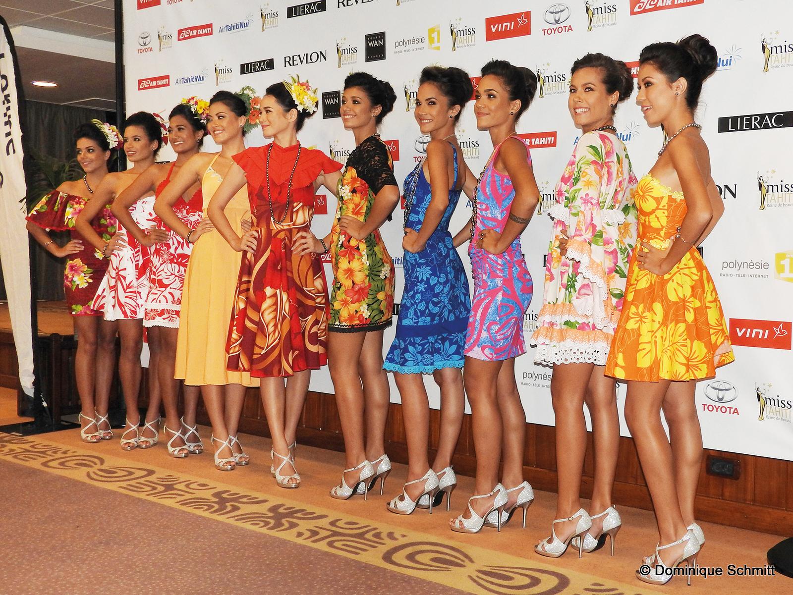 Les dix candidates ont été présentées officiellement par le comité Miss Tahiti. Vous pouvez voter dès à présent pour votre vahine préférée.